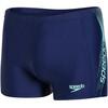 speedo Sports Logo Aquashort Men navy/green glow